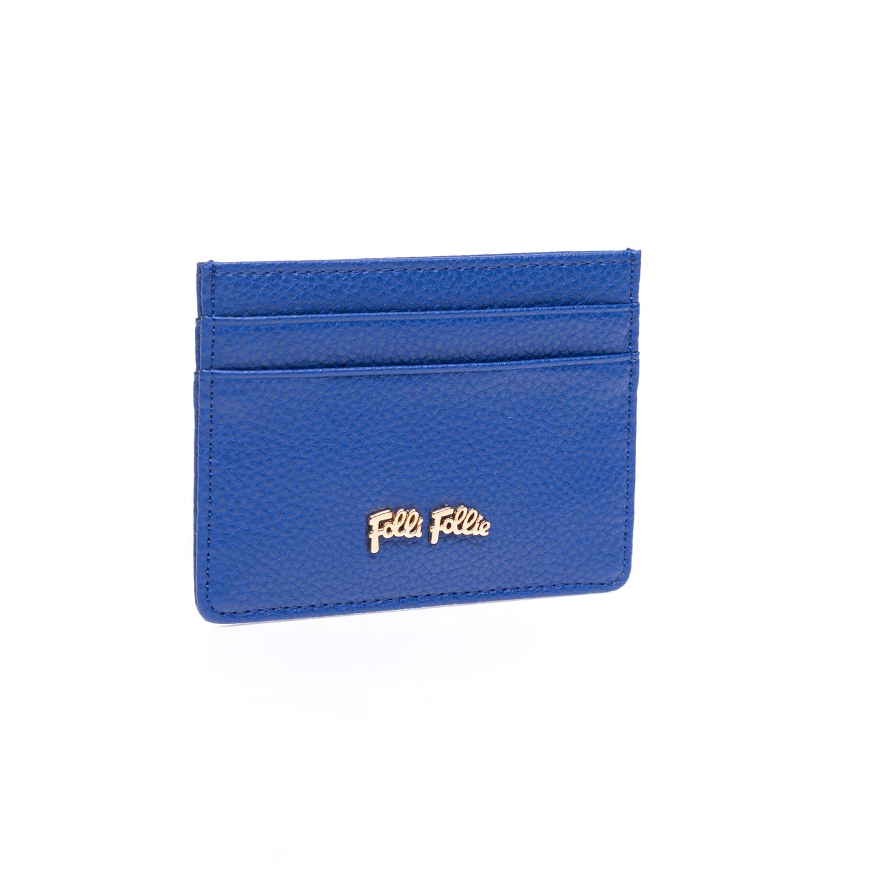 FOLLI FOLLIE - Θήκη για κάρτες Folli Follie μπλε γυναικεία αξεσουάρ θήκες