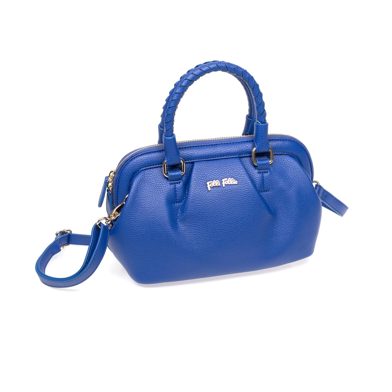 FOLLI FOLLIE - Γυναικεία τσάντα Folli Follie μπλε γυναικεία αξεσουάρ τσάντες σακίδια χειρός