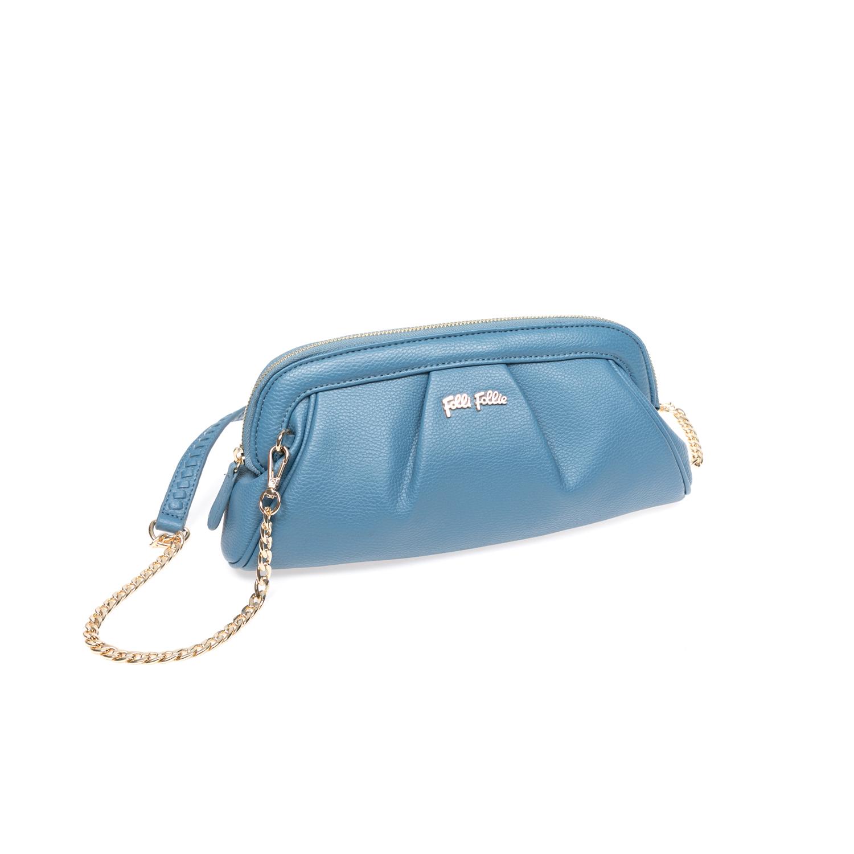 FOLLI FOLLIE - Τσάντα ώμου Folli Follie μπλε bfd36ea1241