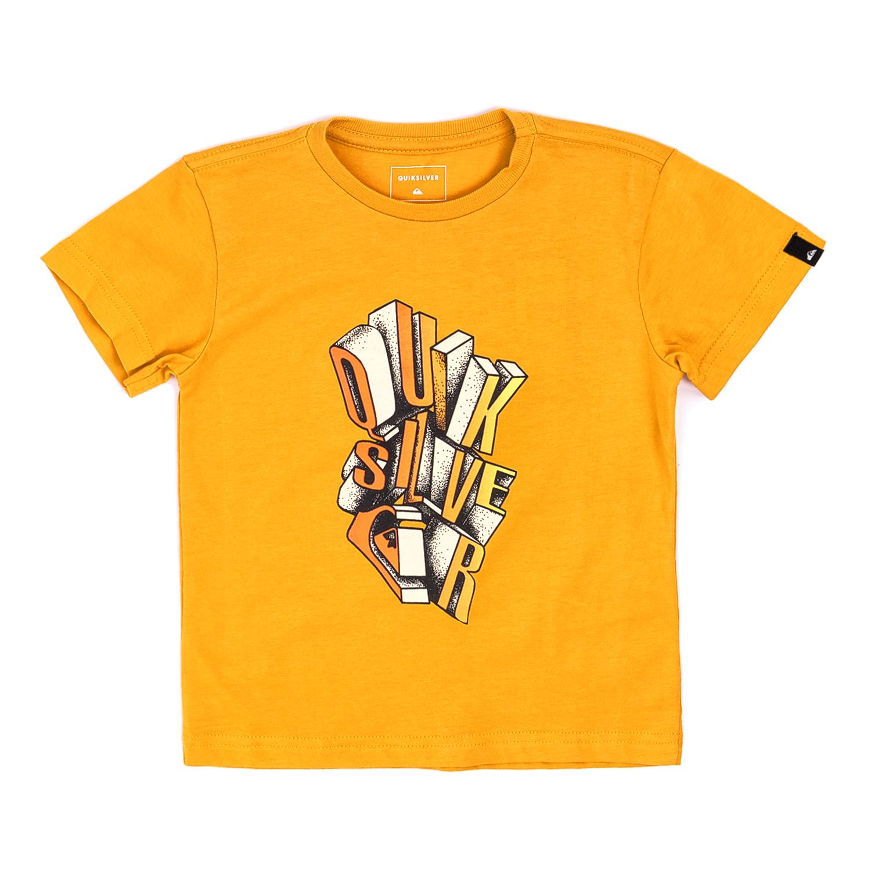 QUICKSILVER – Παιδικό T-shirt QUICKSILVER κίτρινο
