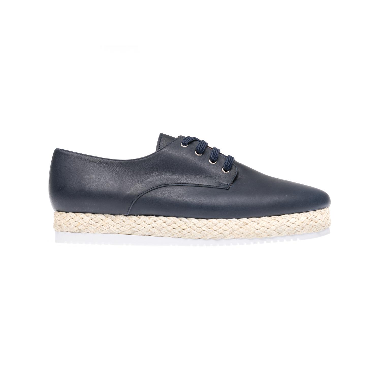 CHANIOTAKIS - Γυναικεία παπούτσια CHANIOTAKIS μπλε γυναικεία παπούτσια μοκασίνια μπαλαρίνες μοκασίνια