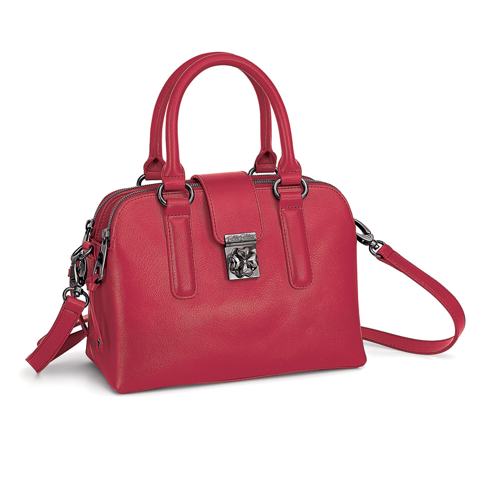 FOLLI FOLLIE – Γυναικεία τσάντα FOLLI FOLLIE κόκκινη 1584021.0-0000