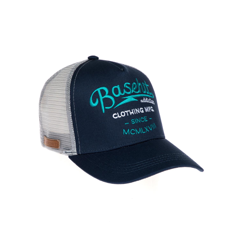 BASEHIT - Καπέλο τζόκεϋ Basehit μπλε γυναικεία αξεσουάρ καπέλα αθλητικά