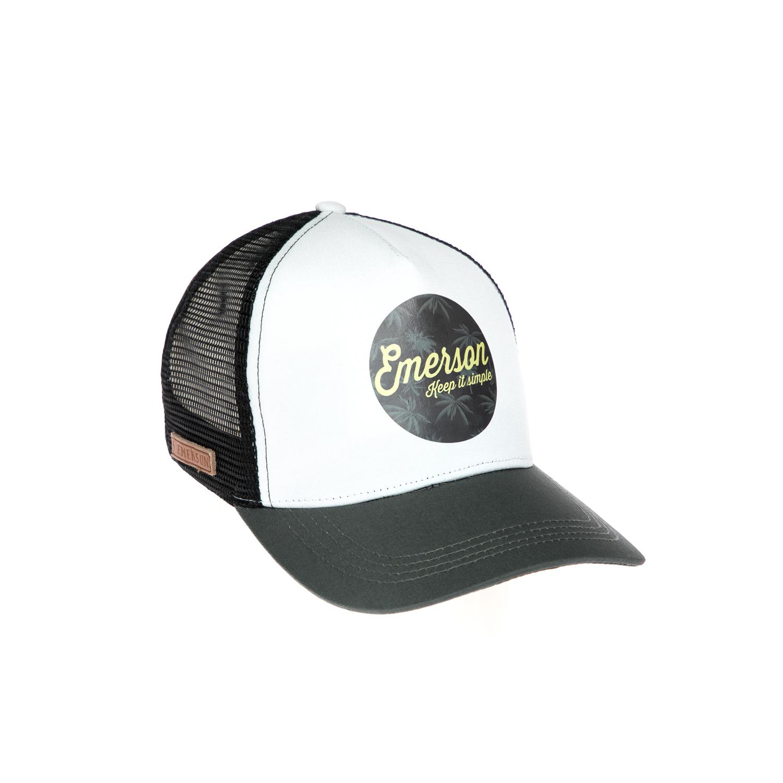 EMERSON - Καπέλο τζόκεϋ Emerson μαύρο-γκρι γυναικεία αξεσουάρ καπέλα αθλητικά