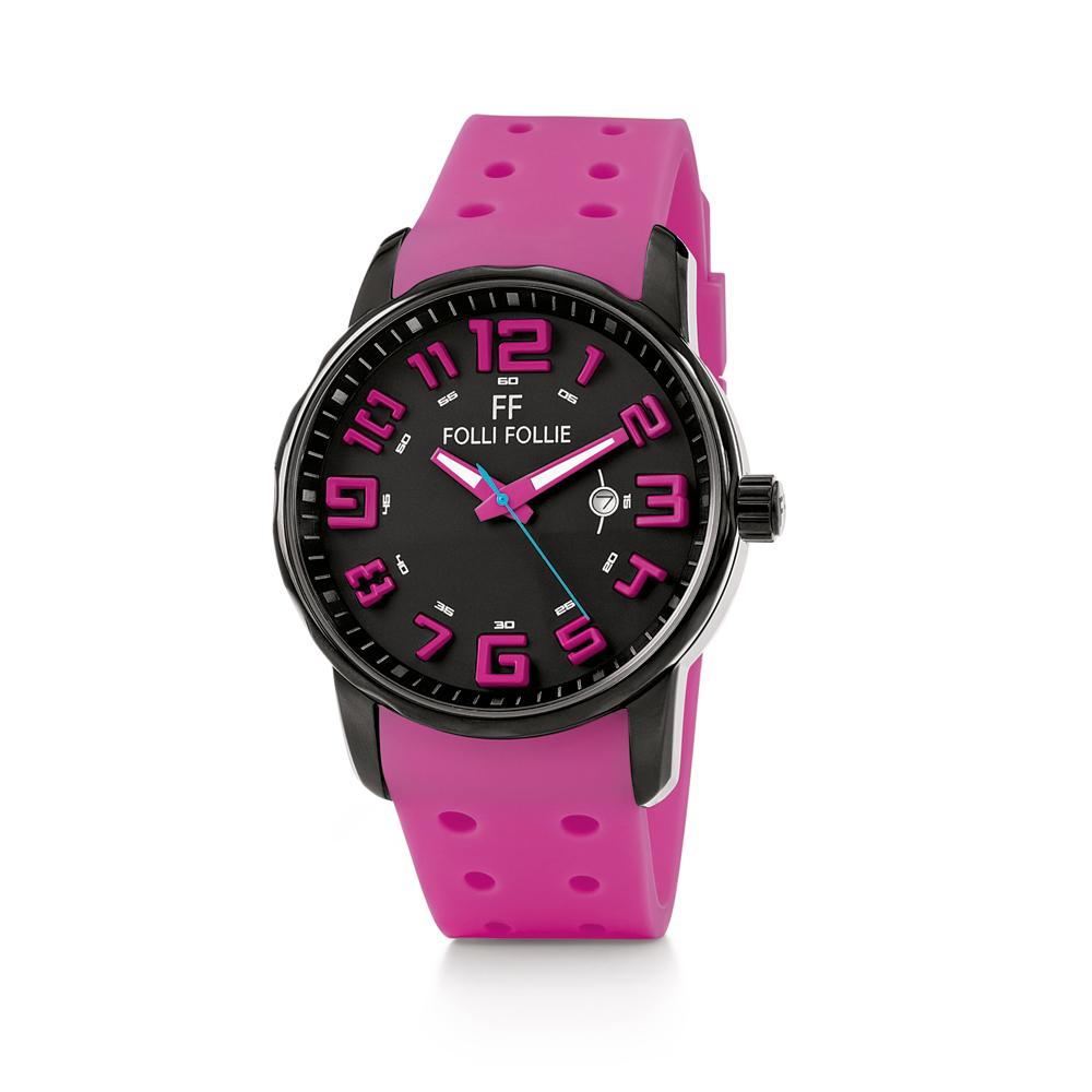FOLLI FOLLIE – Γυναικείο ρολόι Folli Follie ροζ