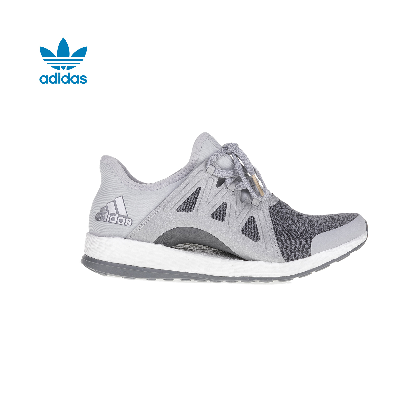 san francisco 471bb 33e38 adidas Originals - Γυναικεία παπούτσια adidas PureBOOST X 2 γκρι