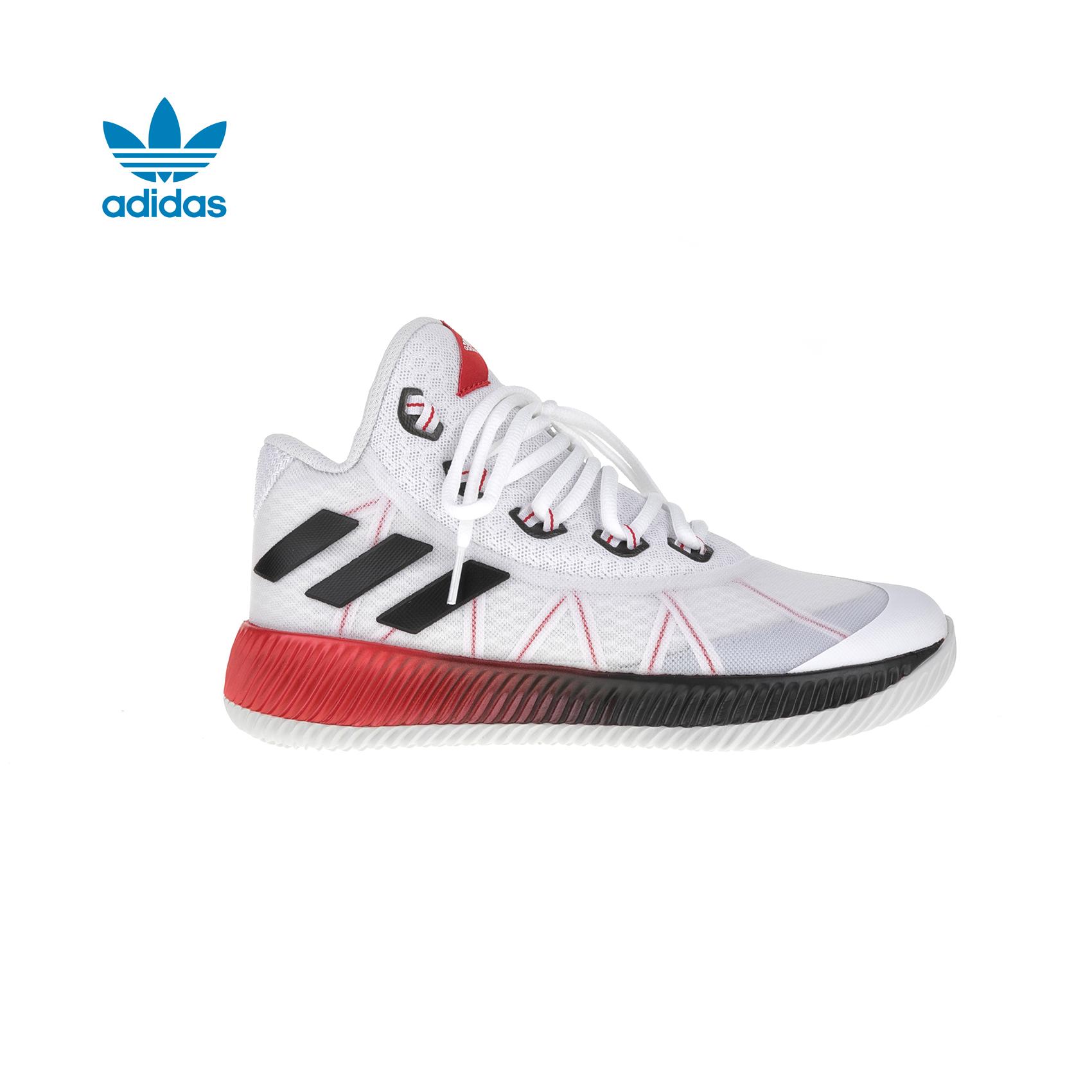 adidas Originals – Παιδικά παπούτσια μπάσκετ adidas Light Em Up 2017 J λευκά