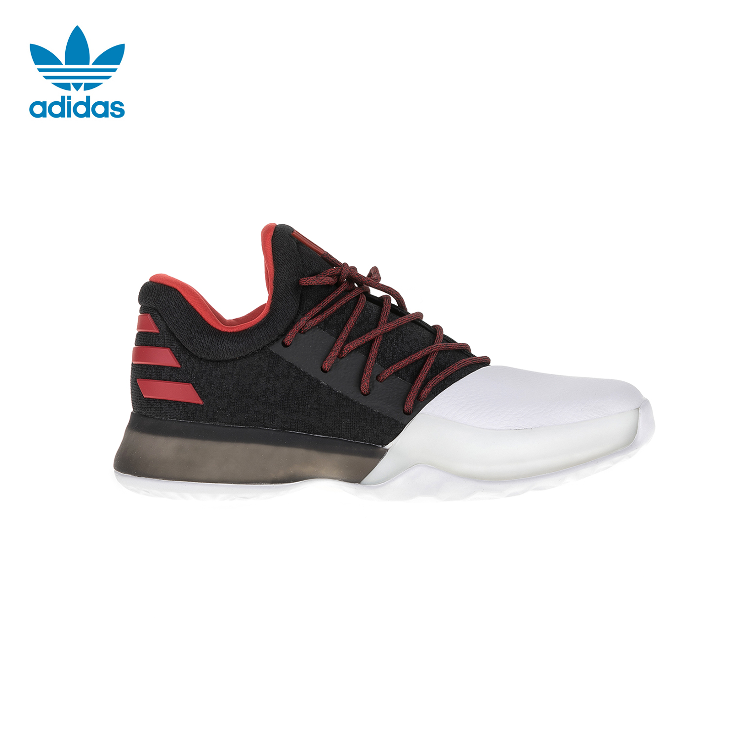 buy online 73710 3dc74 adidas Originals - Παιδικά παπούτσια μπάσκετ adidas Crazy X J μαύρα-λευκά
