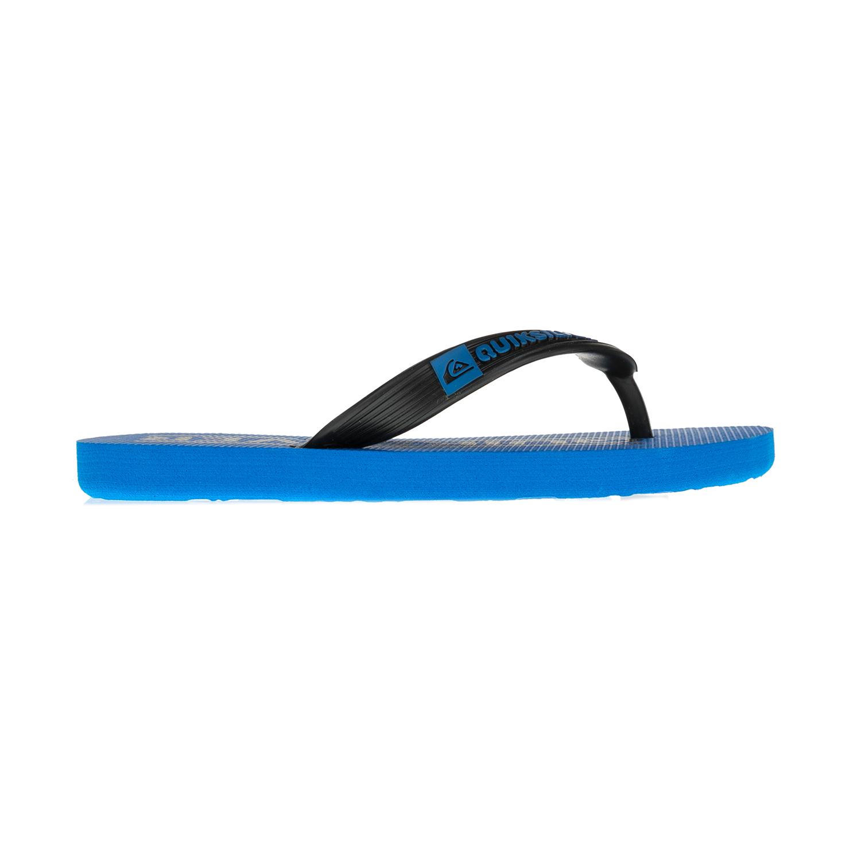 QUICKSILVER - Παιδικές σαγιονάρες Quicksilver μπλε-μαύρες παιδικά boys παπούτσια σαγιονάρες