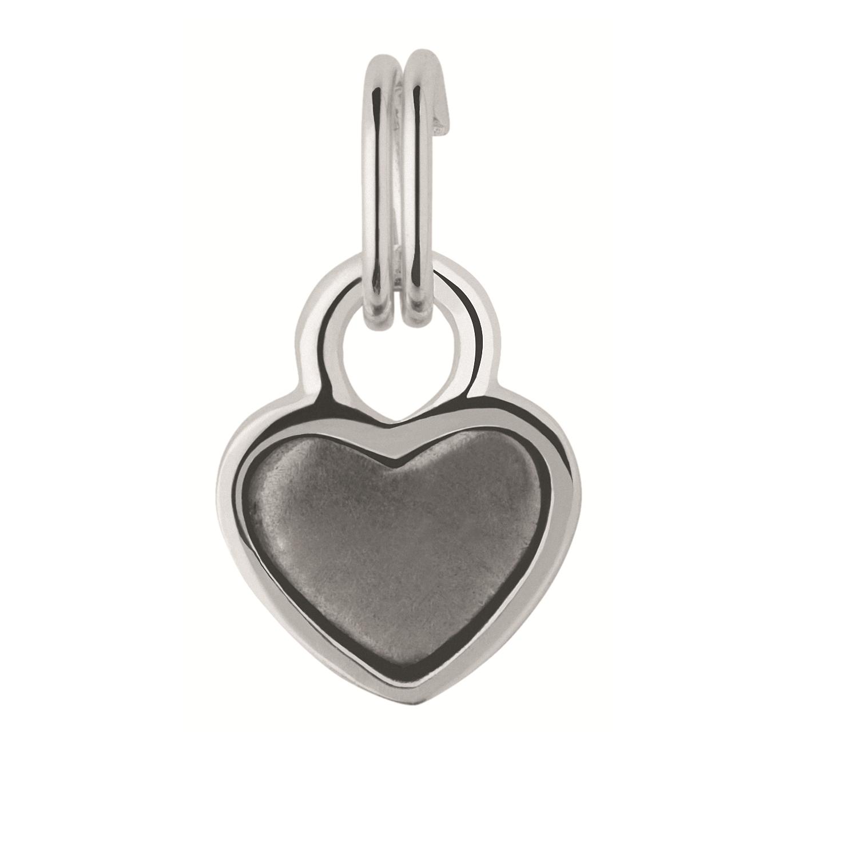 LINKS OF LONDON - Ασημένιο παντατίφ Links of London Keepsakes Mini Heart Tin Charm