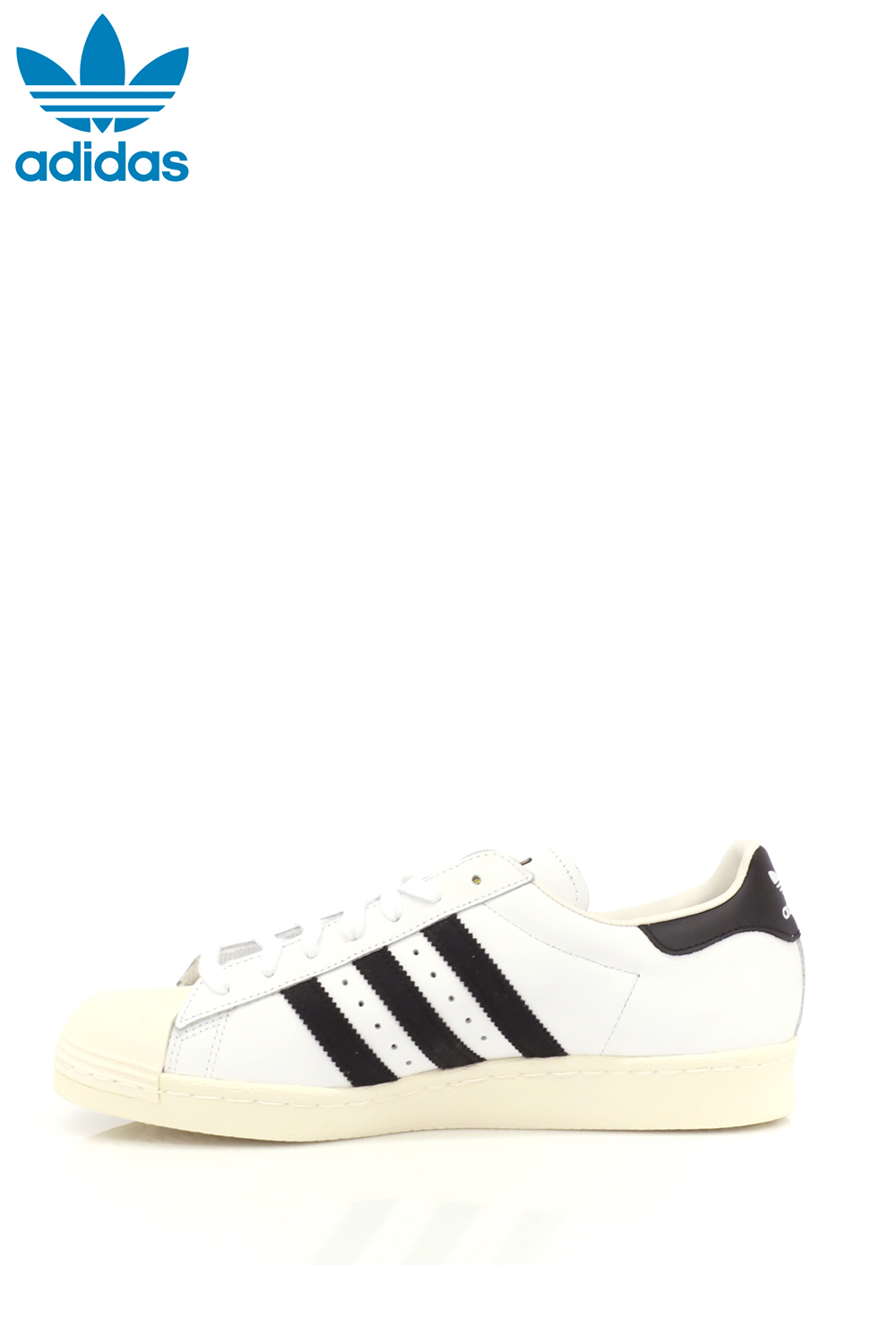 adidas – Ανδρικά sneakers adidas SUPERSTAR 80s λευκά