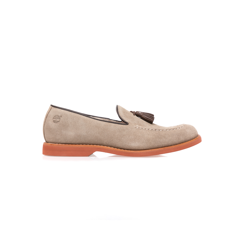 TIMBERLAND (TRAVEL) - Ανδρικά παπούτσια TIMBERLAND μπεζ ανδρικά παπούτσια μοκασίνια loafers