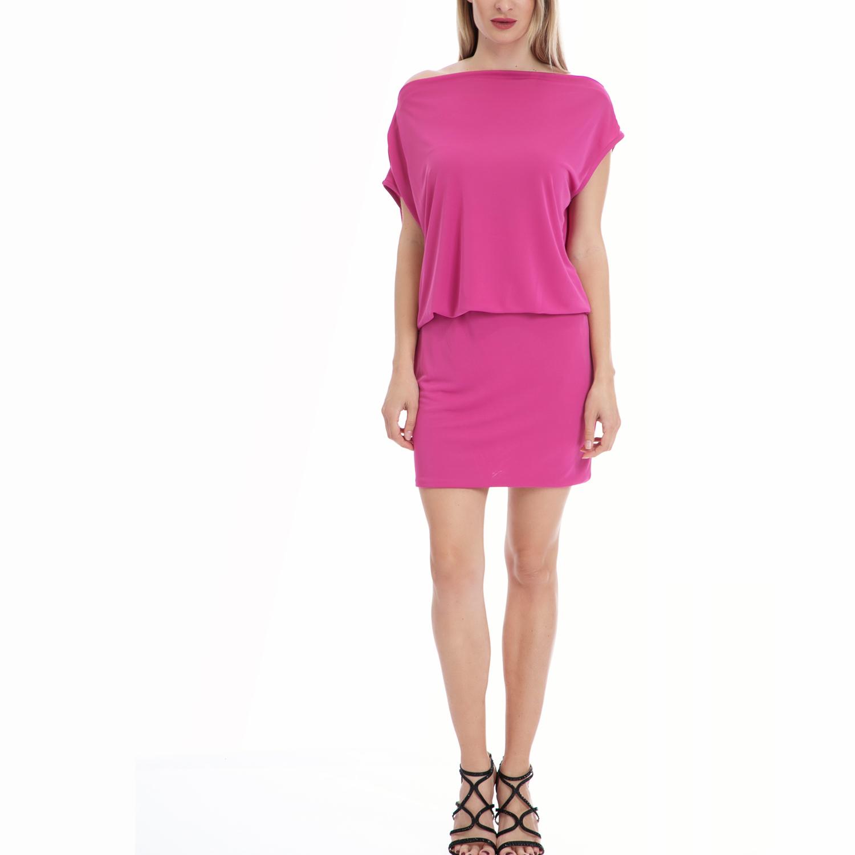 MY TIFFANY - Γυναικείο φόρεμα MY TIFFANY φούξια γυναικεία ρούχα φορέματα μίνι