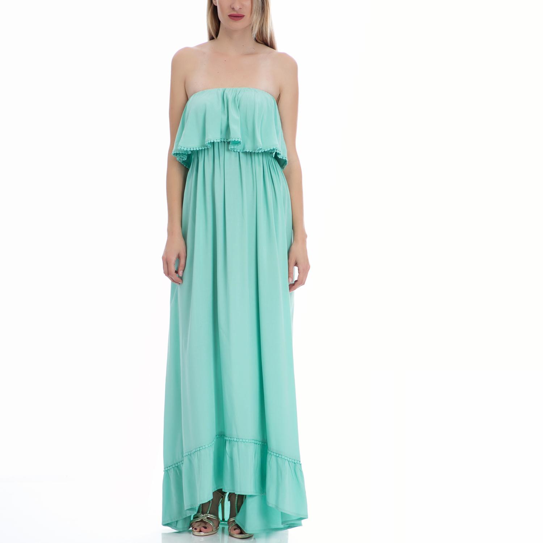 VINTAGE SUGAR - Φόρεμα Vintage Sugar πράσινο γυναικεία ρούχα φορέματα μάξι