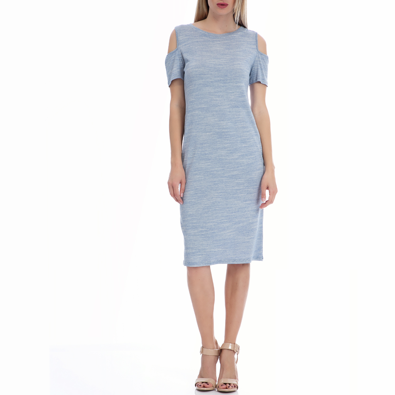 VINTAGE SUGAR - Φόρεμα Vintage Sugar γαλάζιο γυναικεία ρούχα φορέματα μέχρι το γόνατο