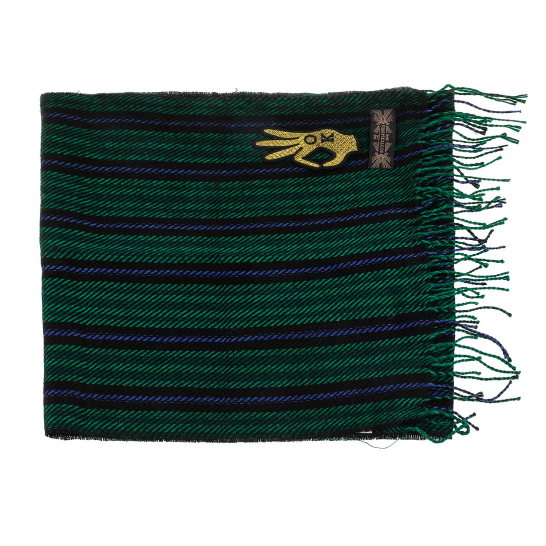 SCOTCH   SODA - Γυναικείο κασκόλ MAISON SCOTCH πράσινο-μπλε b9a34a50197