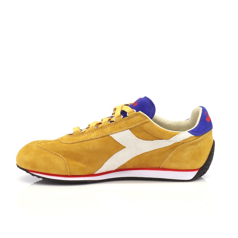 DIADORA – Unisex sneakers DIADORA μπεζ-κίτρινα