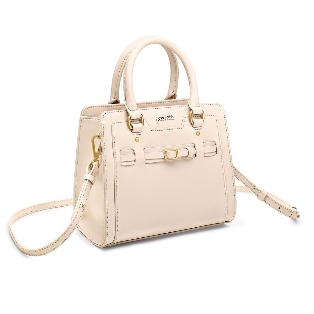 FOLLI FOLLIE – Γυναικεία τσάντα χειρός FOLLI FOLLIE εκρού 1587196.0-0000
