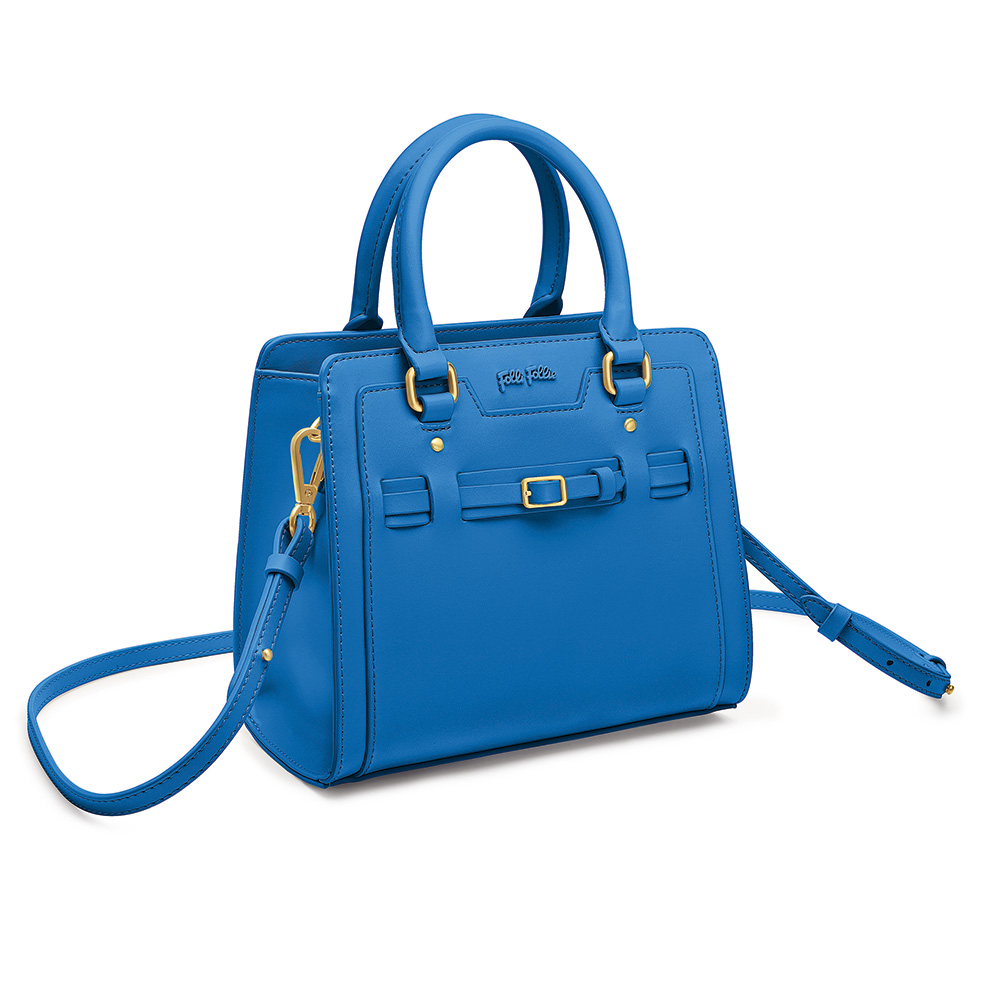 FOLLI FOLLIE – Γυναικεία τσάντα χειρός FOLLI FOLLIE μπλε 1587207.0-0000