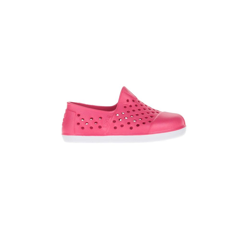 TOMS – Παιδικά παπούτσια TOMS PINK EVA INJECTION φούξια