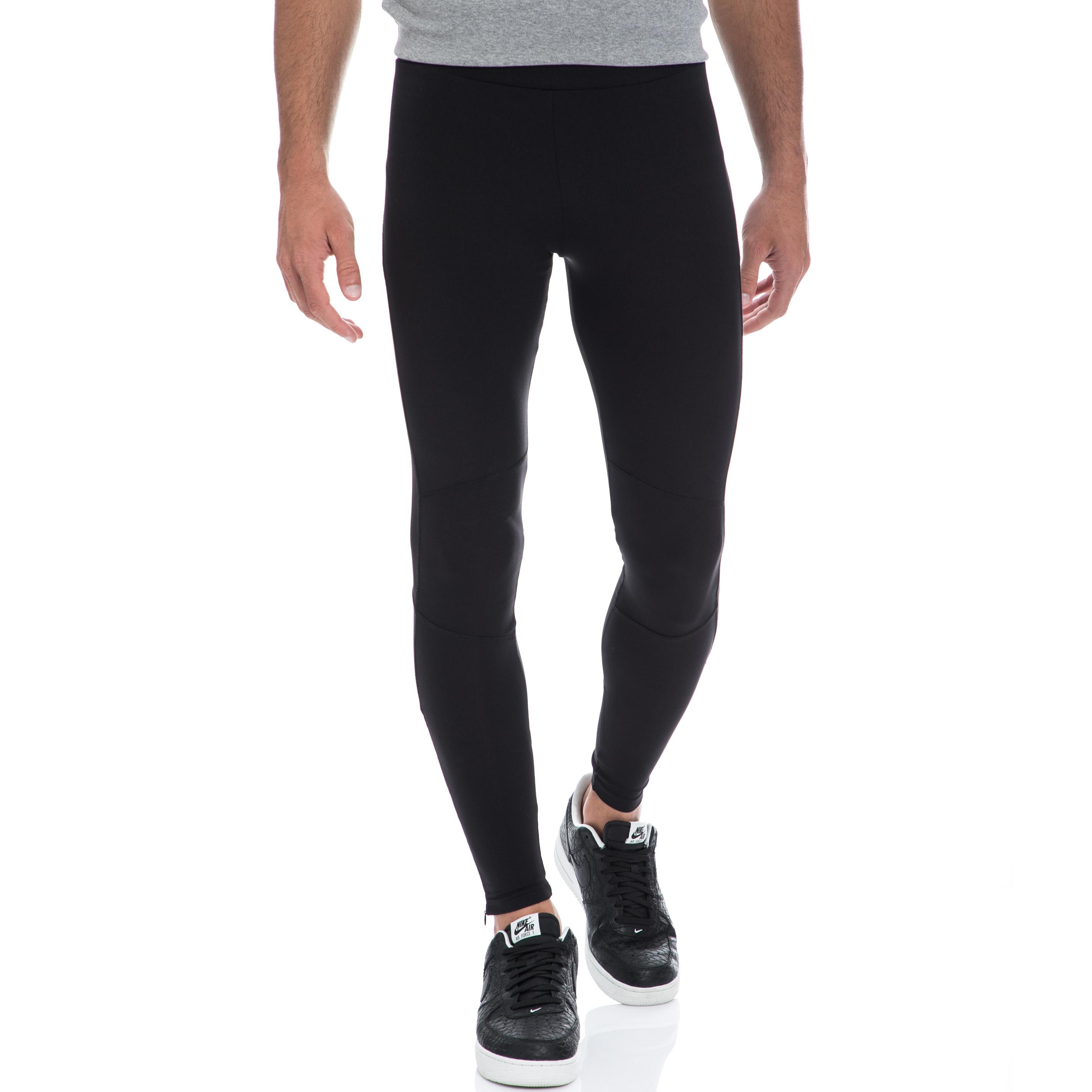 BODYTALK - Ανδρικό κολάν BODYTALK μαύρο ανδρικά ρούχα αθλητικά κολάν