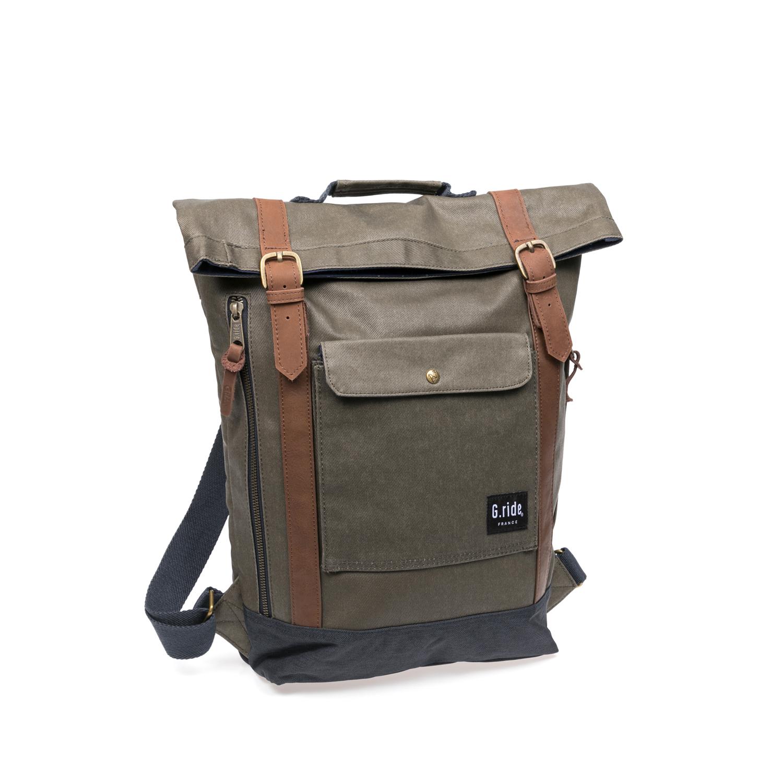 G.RIDE – Τσάντα πλάτης G.Ride γκρι 1587707.0-X411