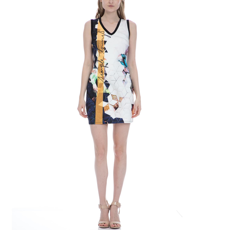 BAYA - Φόρεμα BAYA εμπριμέ γυναικεία ρούχα φορέματα μίνι