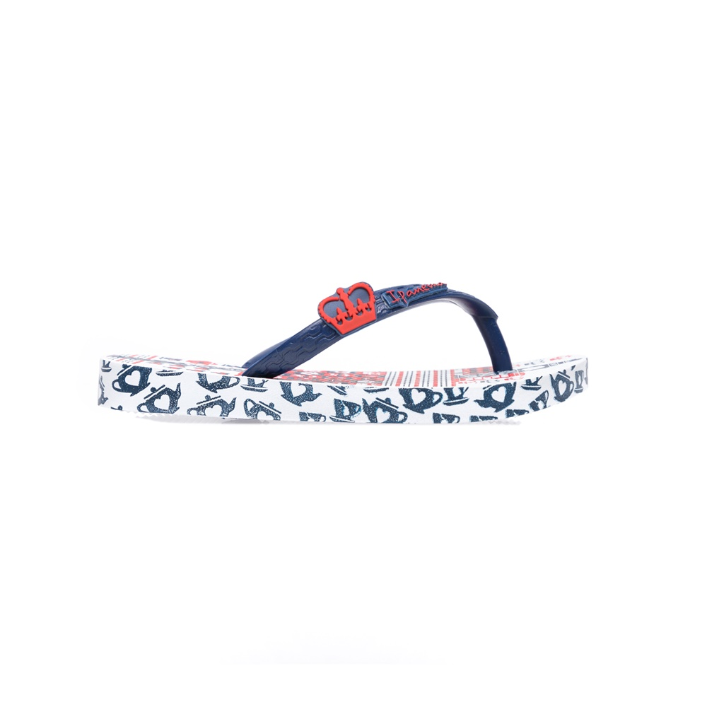 IPANEMA - Παιδικές σαγιονάρες IPANEMA μπλε-λευκές παιδικά boys παπούτσια σαγιονάρες
