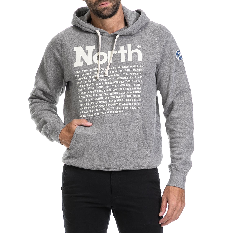 NORTH SAILS – Ανδρική μπλούζα JASON NORTH SAILS γκρι