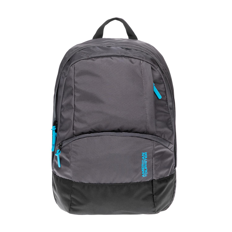 AMERICAN TOURISTER – Τσάντα πλάτης American Tourister γκρι