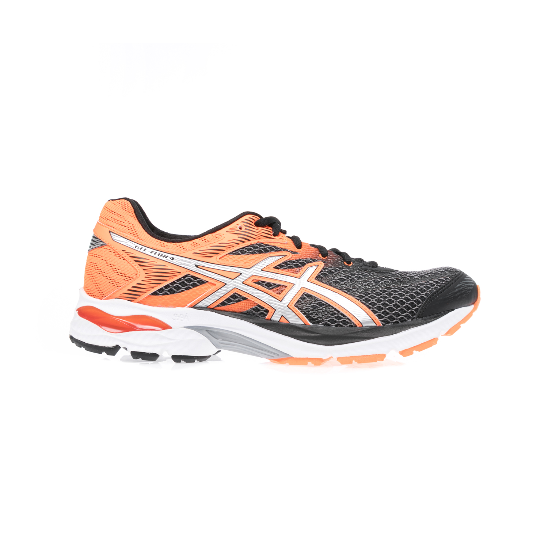 ASICS - Ανδρικά παπούτσια Asics GEL-FLUX 4 μαύρα-πορτοκαλί ανδρικά παπούτσια αθλητικά running
