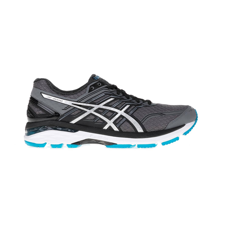 ASICS (FO) - Ανδρικά αθλητικά παπούτσια ASICS GT-2000 5 γκρι-μαύρα ανδρικά παπούτσια αθλητικά running