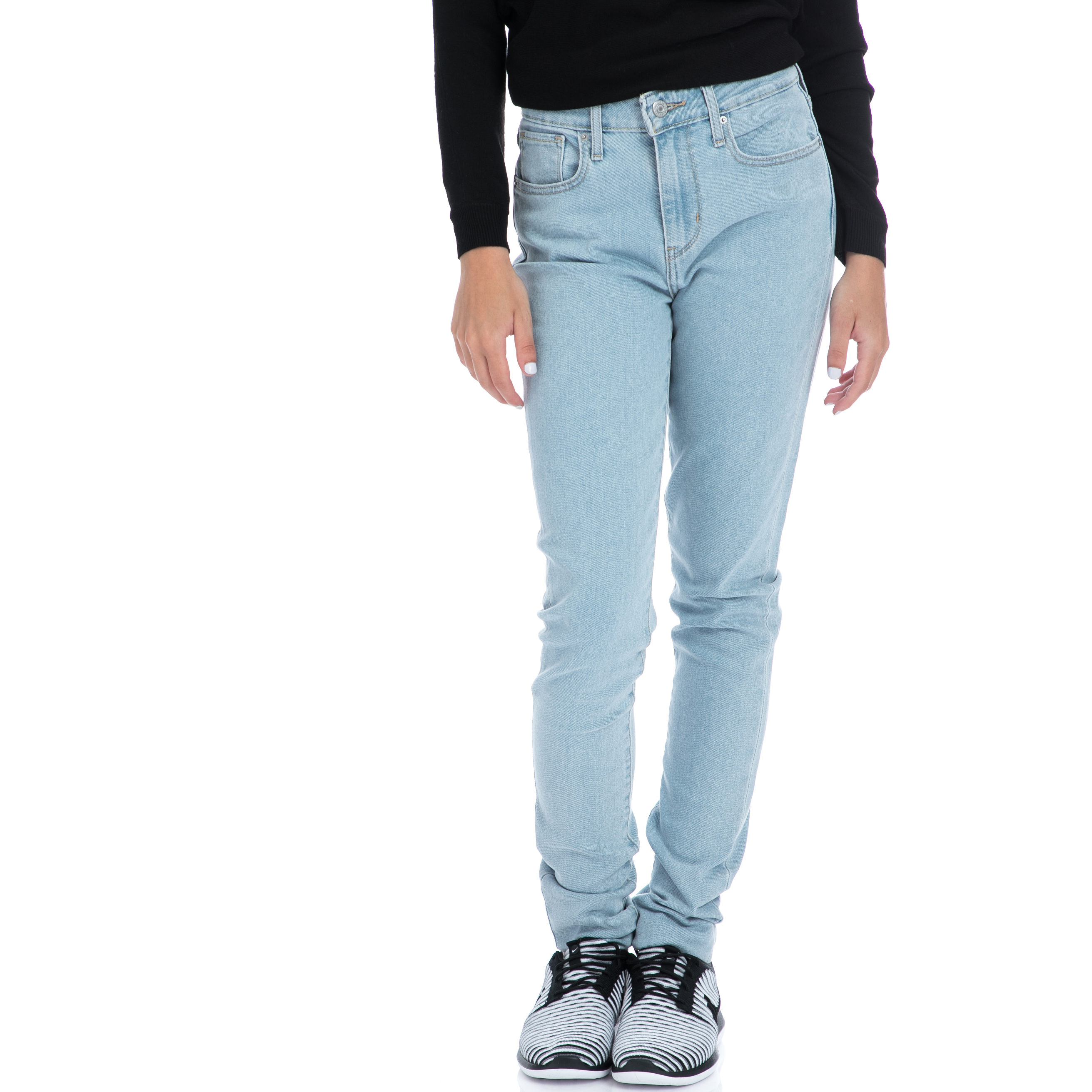 52533f9be575 LEVI S – Γυναικειο τζιν παντελόνι Levi s 721 HIGH RISE SKINNY μπλε. Factory  Outlet