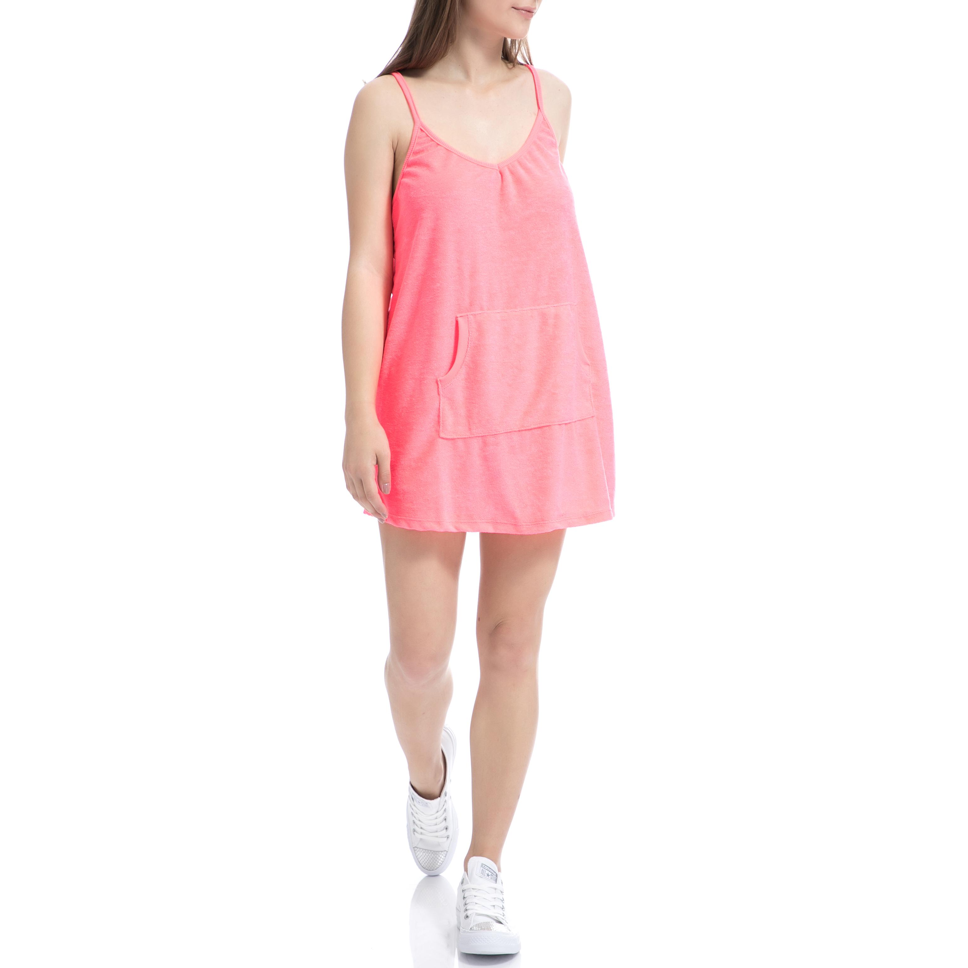 MYMOO - Γυναικείο φόρεμα MYMOO ροζ γυναικεία ρούχα φορέματα μίνι