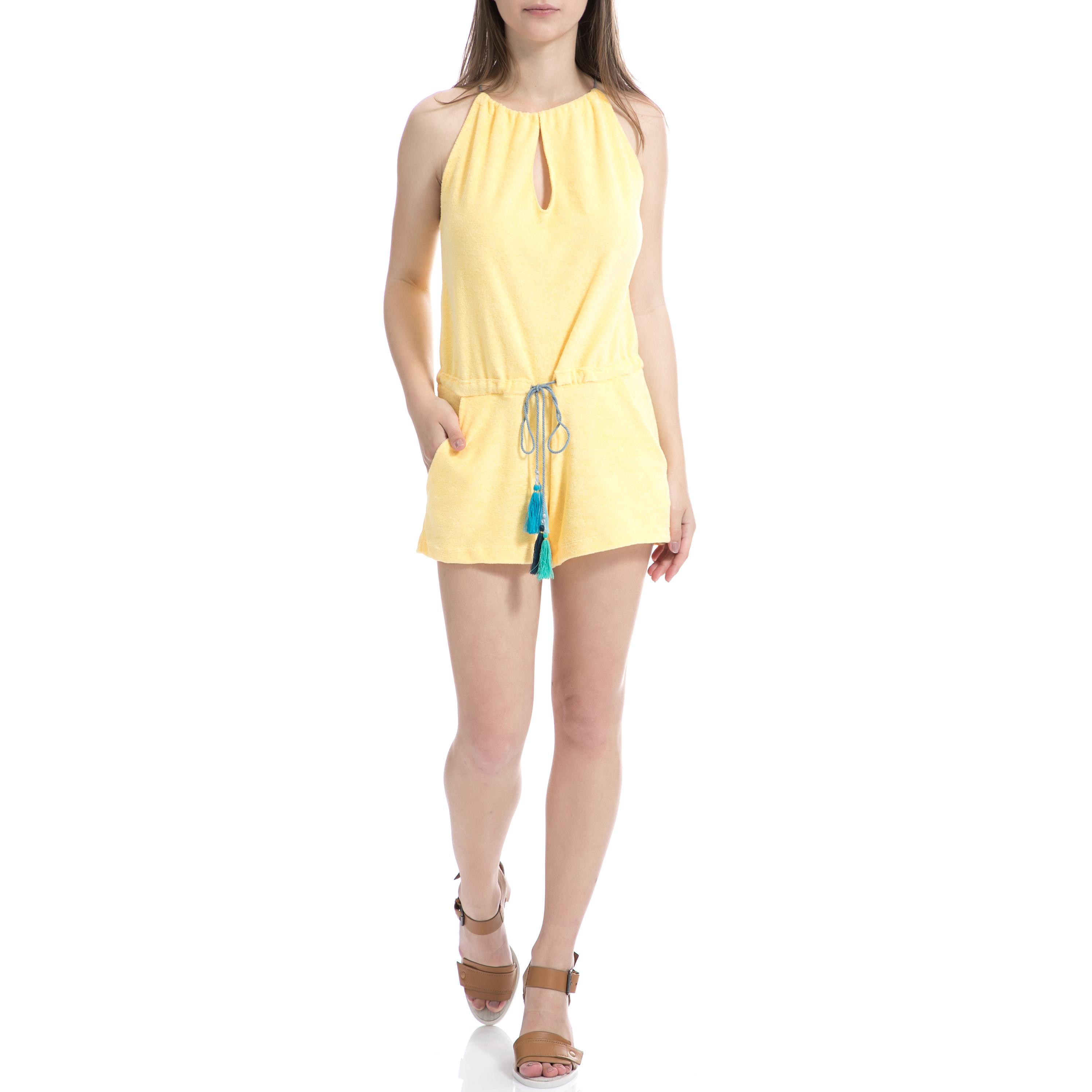 MYMOO – Γυναικεία ολόσωμη φόρμα MYMOO κίτρινη