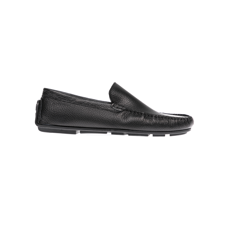 AERO BY KASTA - Ανδρικά μοκασίνια AERO BY KASTA μαύρα ανδρικά παπούτσια μοκασίνια loafers