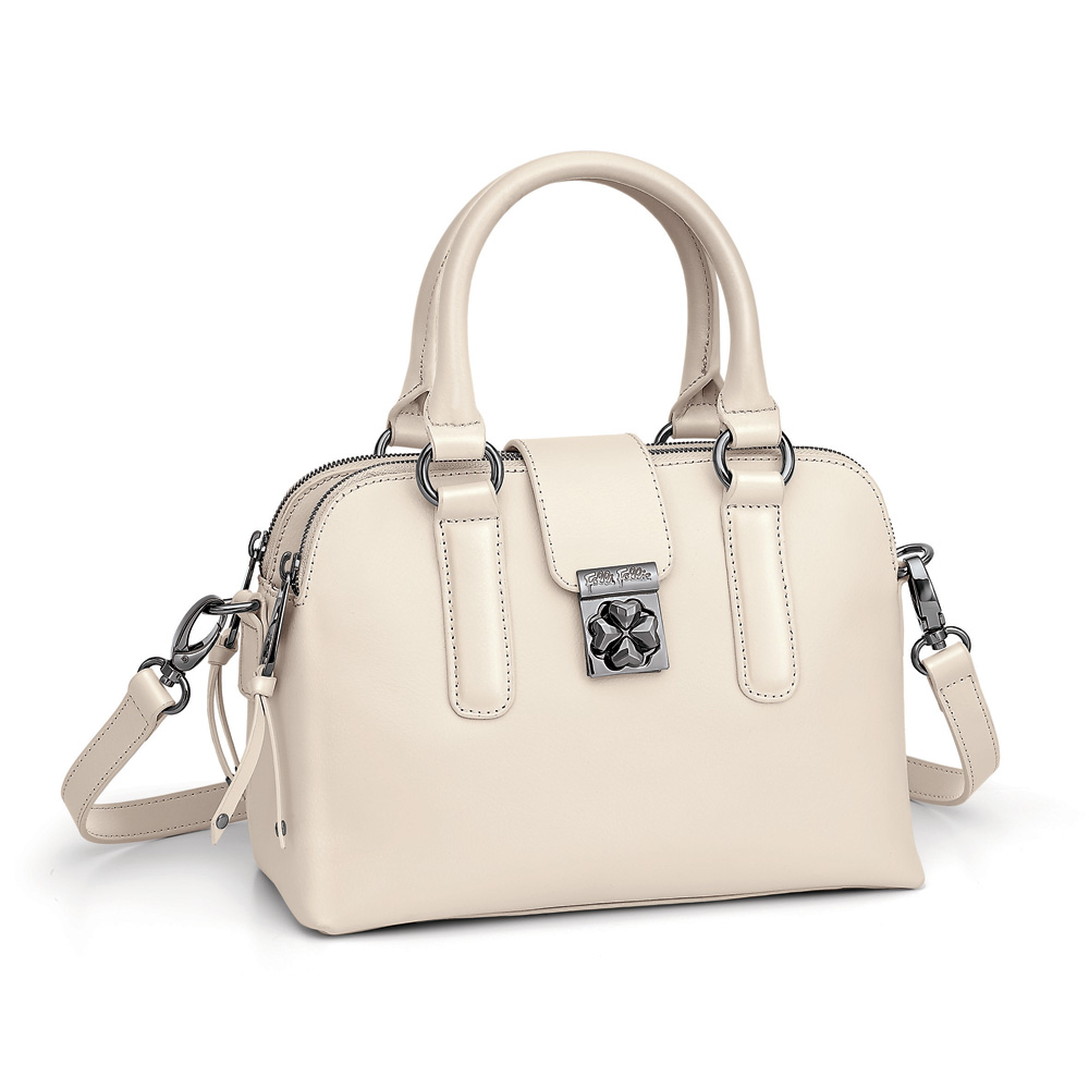 FOLLI FOLLIE – Γυναικεί τσάντα FOLLI FOLLIE λευκή 1595246.0-0000