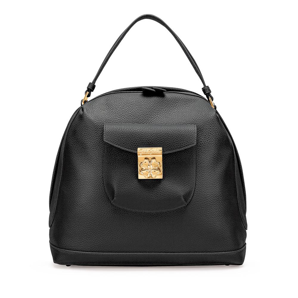 FOLLI FOLLIE – Γυναικεία τσάντα χειρός FOLLI FOLLIE μαύρη