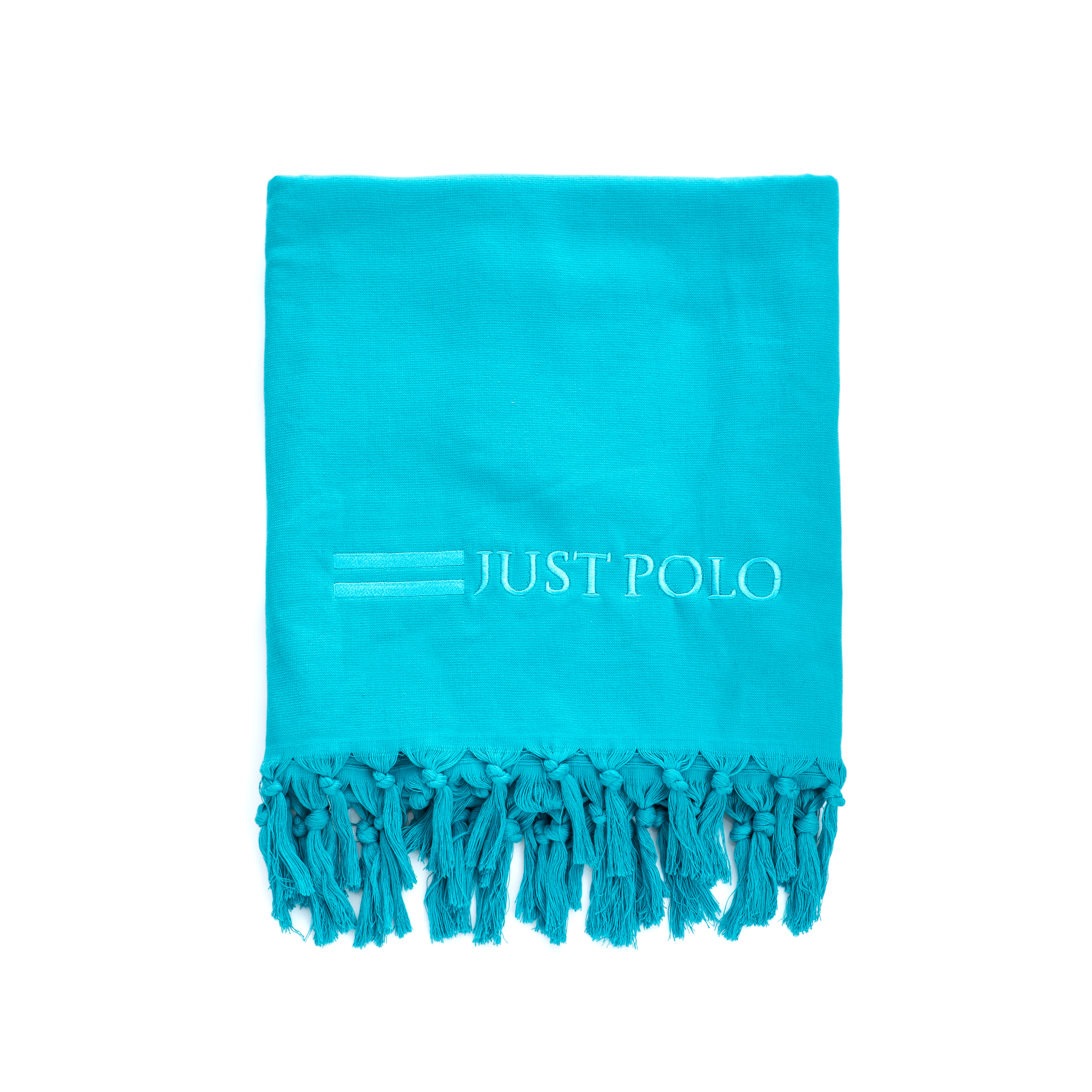 JUST POLO - Πετσέτα θαλάσσης Just Polo μπλε ανδρικά αξεσουάρ πετσέτες