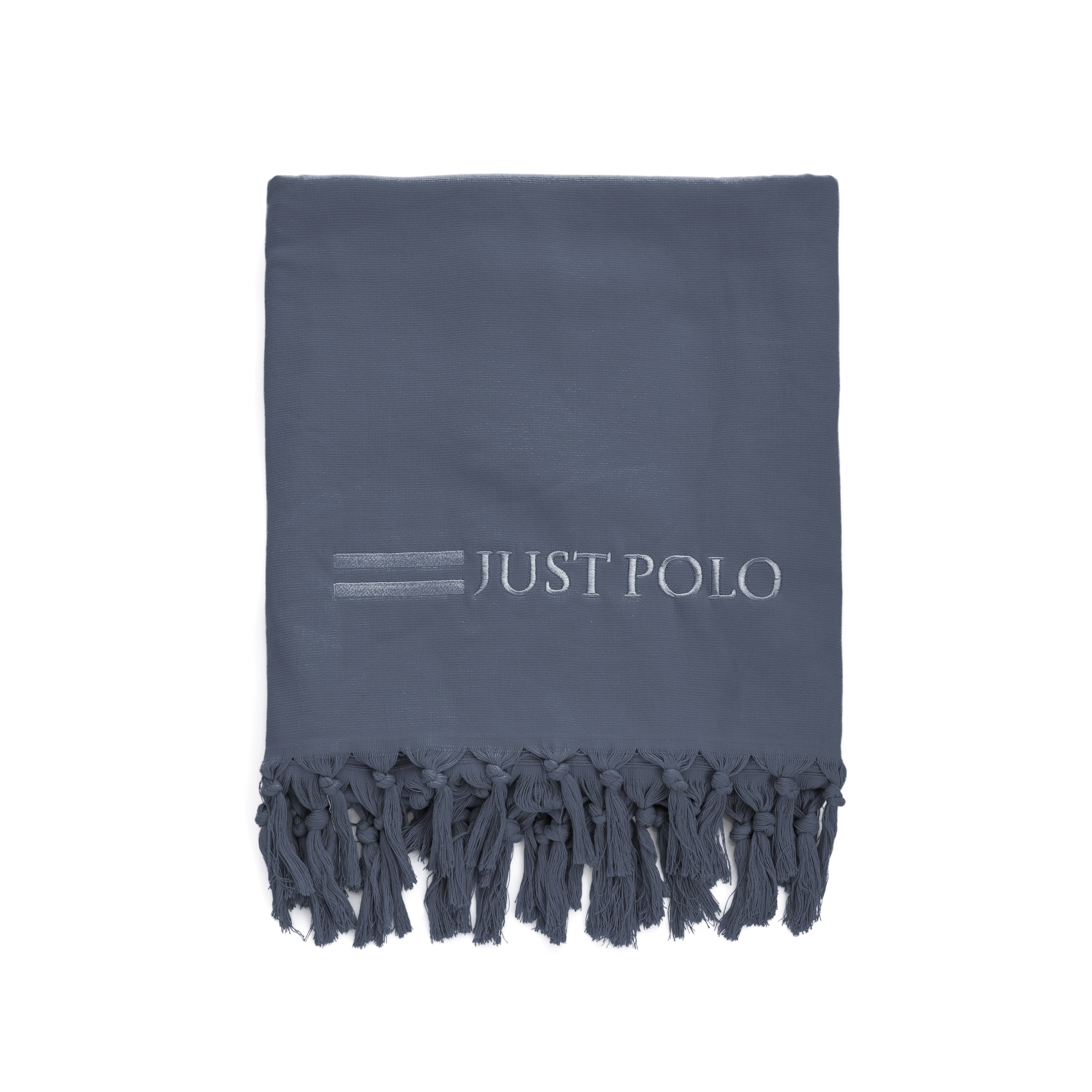 JUST POLO - Πετσέτα θαλάσσης Just Polo γκρι ανδρικά αξεσουάρ πετσέτες