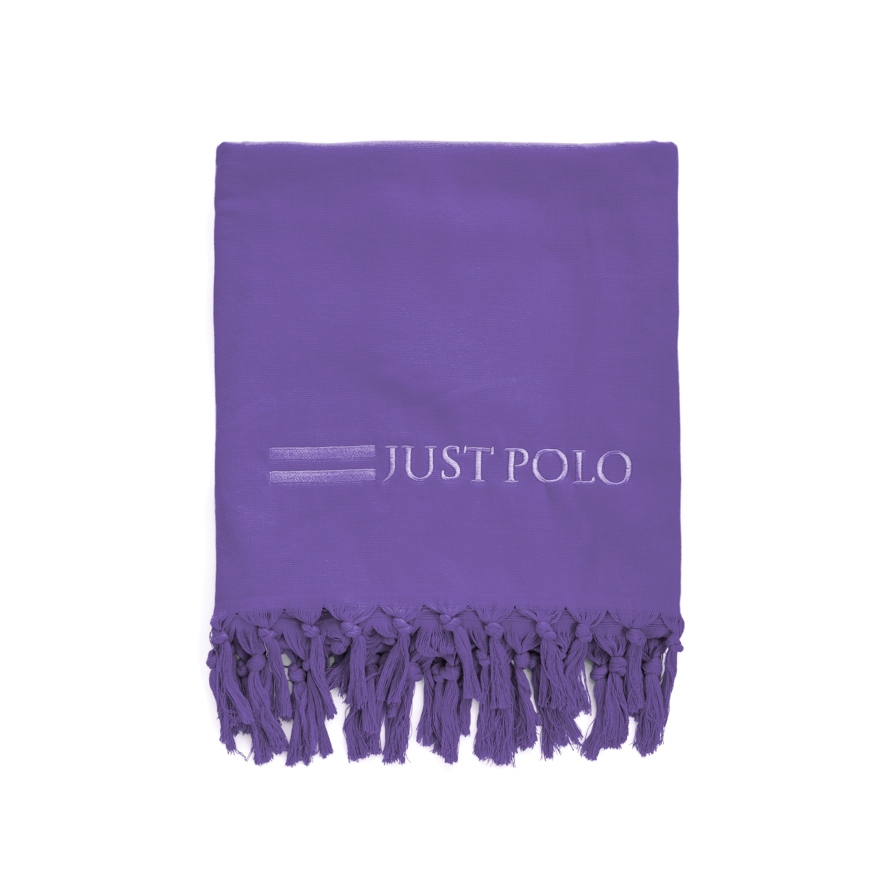 JUST POLO - Πετσέτα θαλάσσης Just Polo μωβ ανδρικά αξεσουάρ πετσέτες