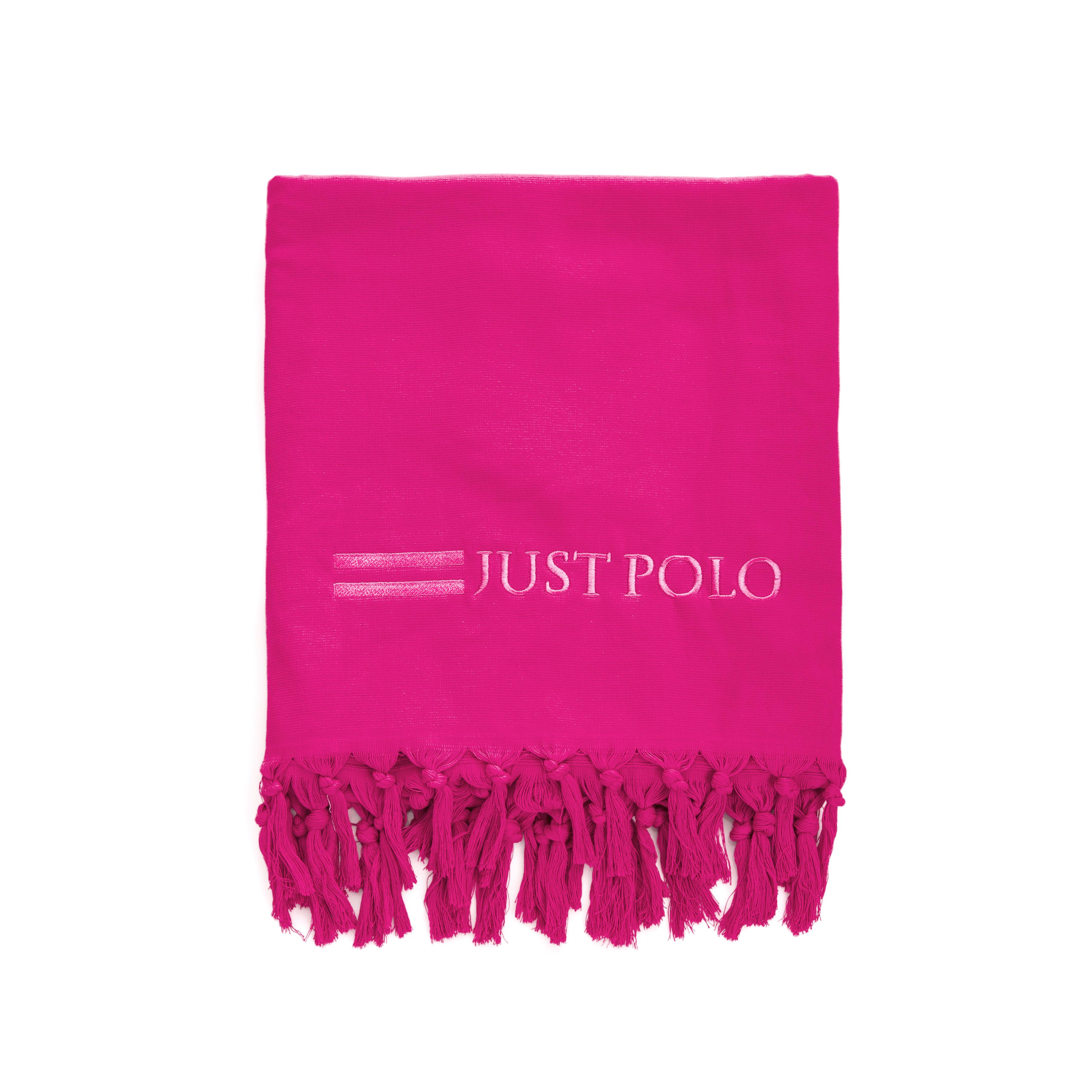 JUST POLO – Πετσέτα θαλάσσης Just Polo φούξια