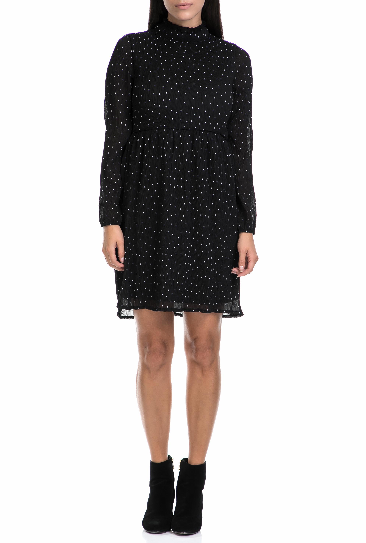 MOLLY BRACKEN - Γυναικείο φόρεμα MOLLY BRACKEN μαύρο-λευκό γυναικεία ρούχα φορέματα μίνι