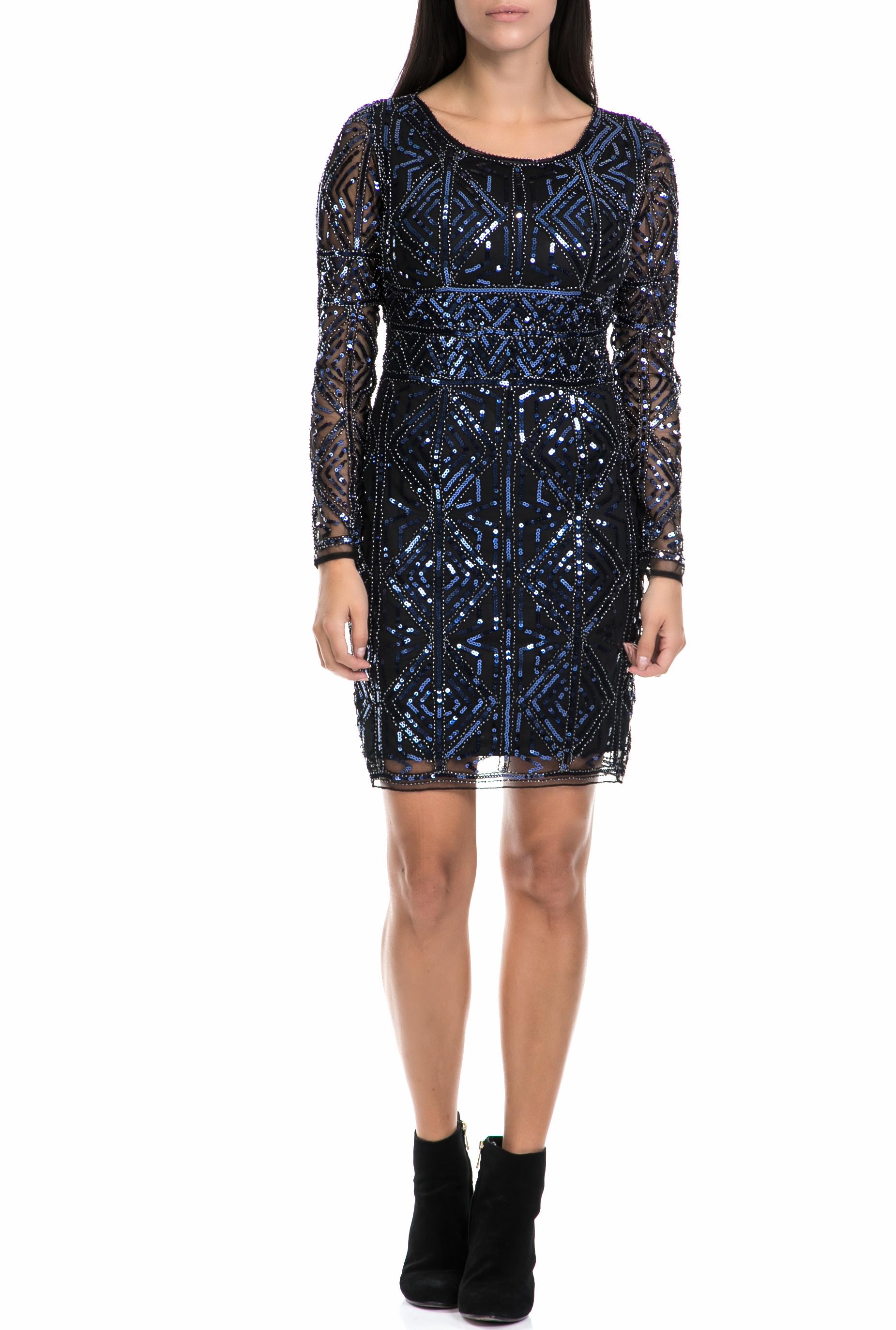 f5ebb13152b3 MOLLY BRACKEN – Γυναικείο φόρεμα MOLLY BRACKEN μπλε