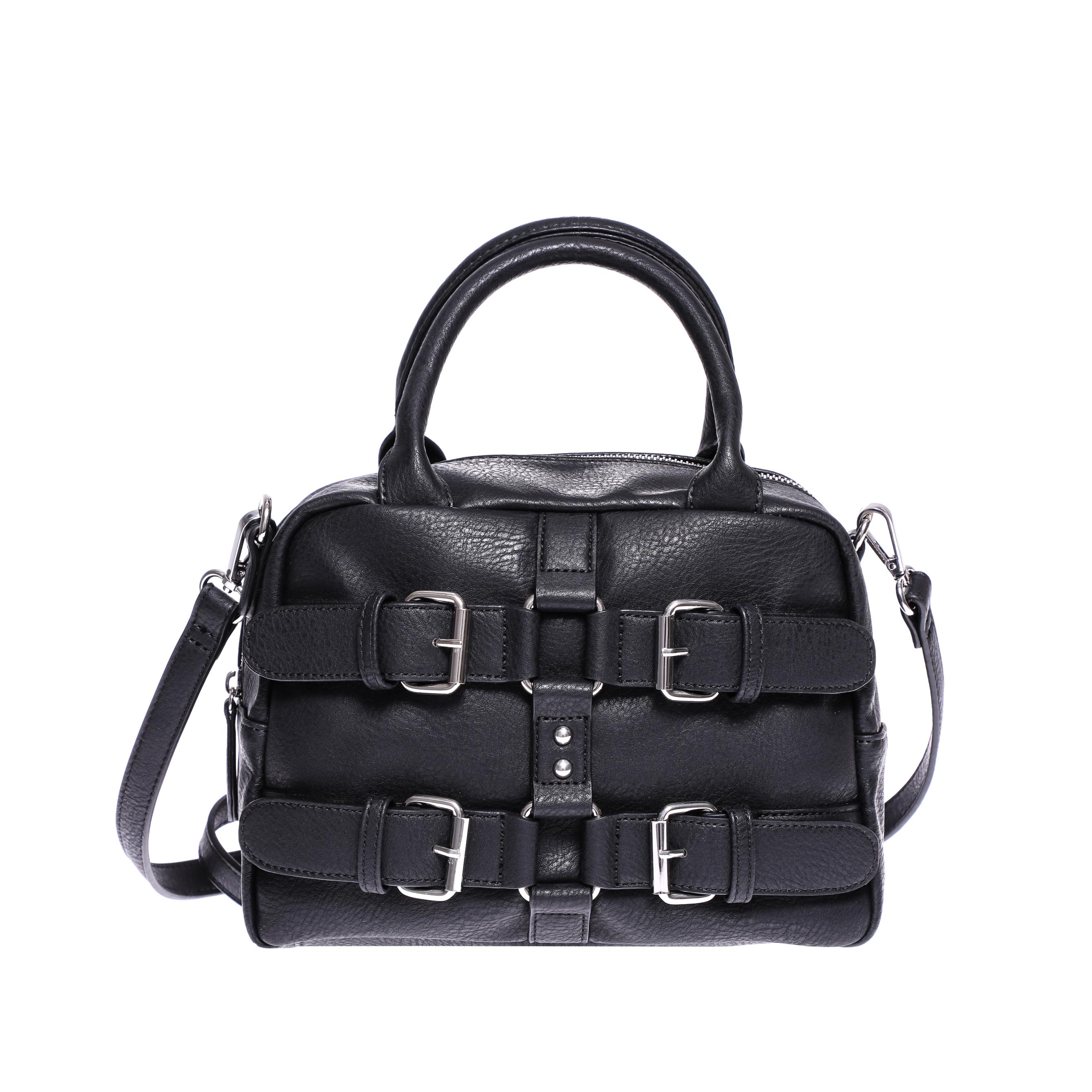 DENNY ROSE - Γυναικεία τσάντα Denny Rose μαύρη γυναικεία αξεσουάρ τσάντες σακίδια χειρός