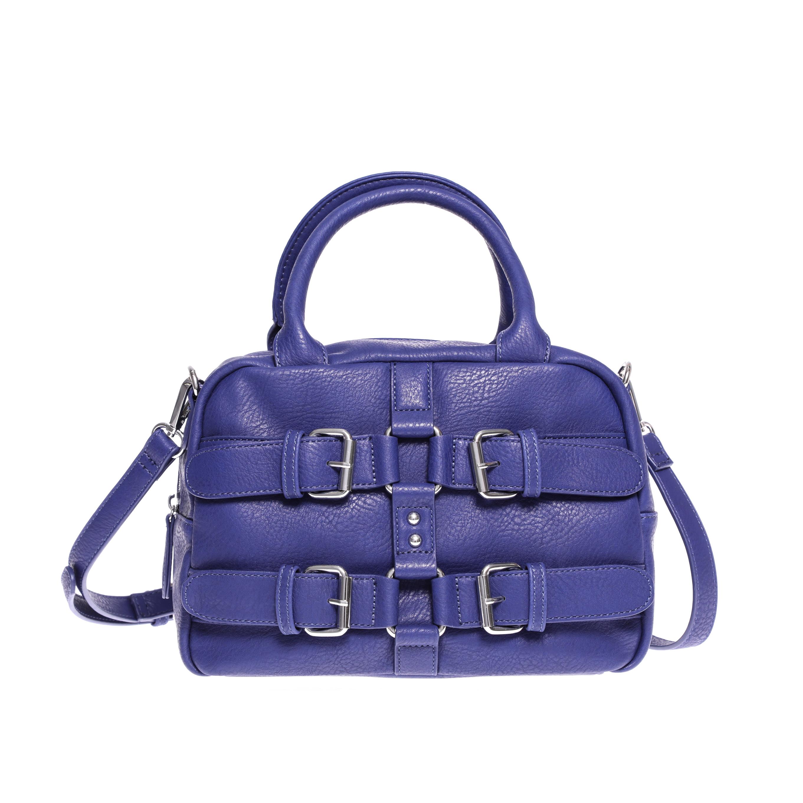 DENNY ROSE - Γυναικεία τσάντα Denny Rose μπλε-μωβ γυναικεία αξεσουάρ τσάντες σακίδια χειρός