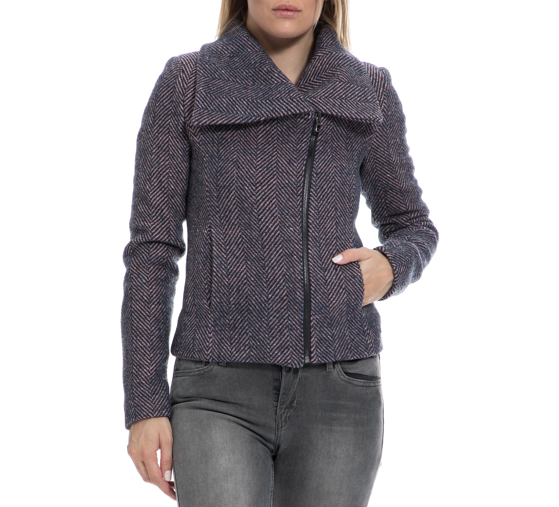 DENNY ROSE – Γυναικείο παλτό DENNY ROSE μοβ