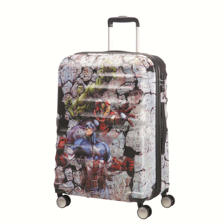 AMERICAN TOURISTER – Παιδική βαλίτσα μεσαία WAVEBREAKER DISNEY MARVEL πολύχρωμη
