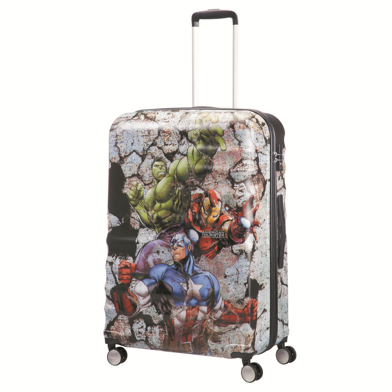 AMERICAN TOURISTER – Παιδική βαλίτσα μεγάλη WAVEBREAKER DISNEY MARVEL πολύχρωμη
