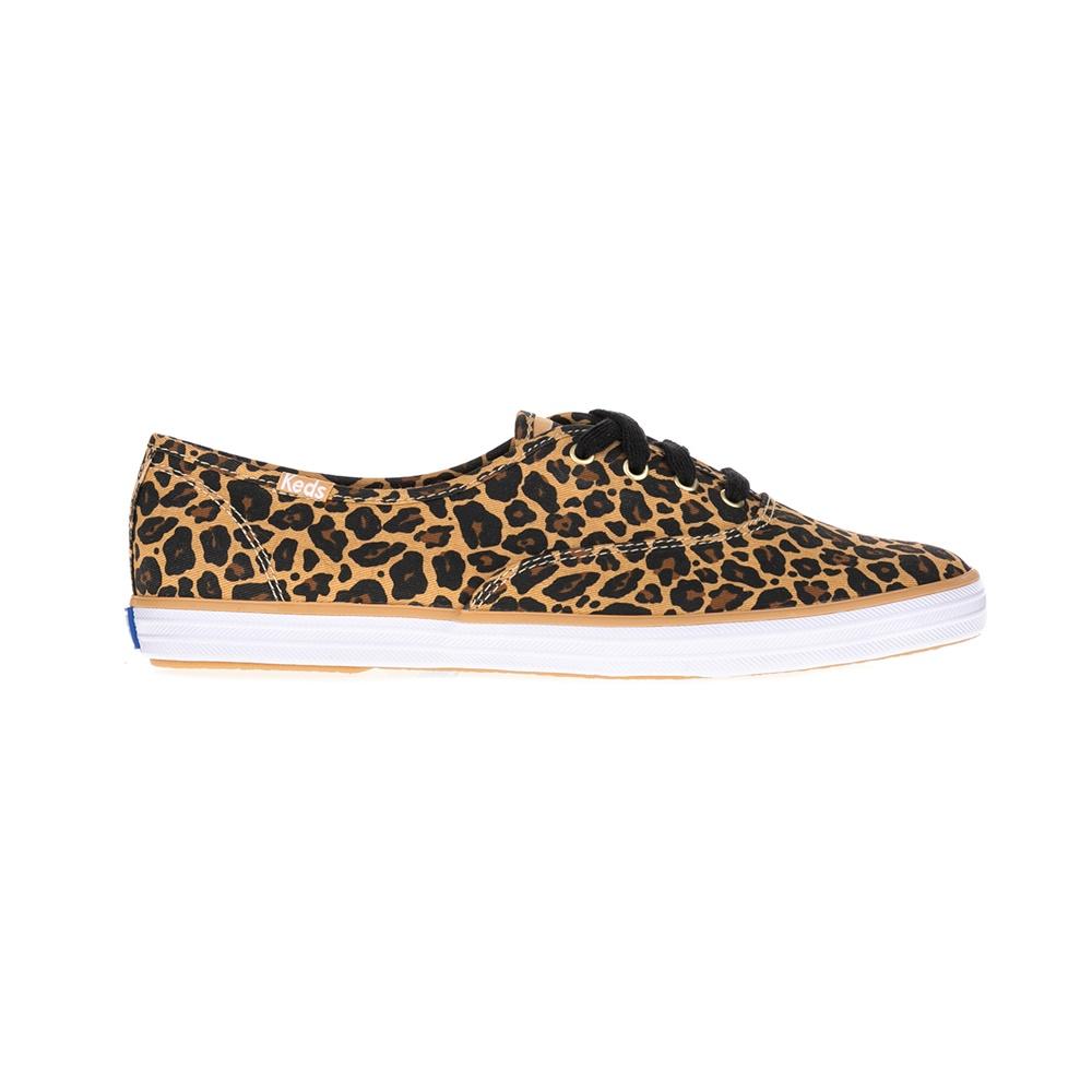 KEDS – Γυναικεία παπούτσια LEOPARD TAN μπεζ-μαύρα